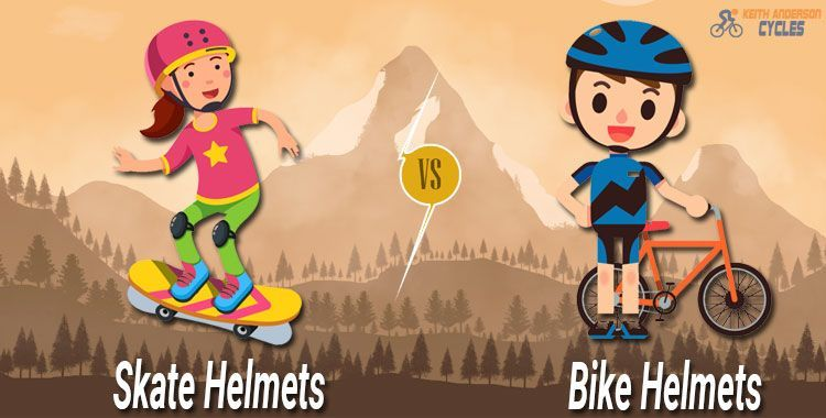 Skate Helmets vs. Bike Helmets
